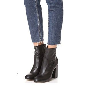 Rebecca Minkoff Bojana Stretch Ankle Zip Up Bootie